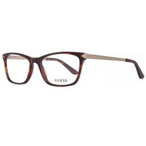 AUTHENTIC Guess RX Eyeglasses Brown/Gold NWT